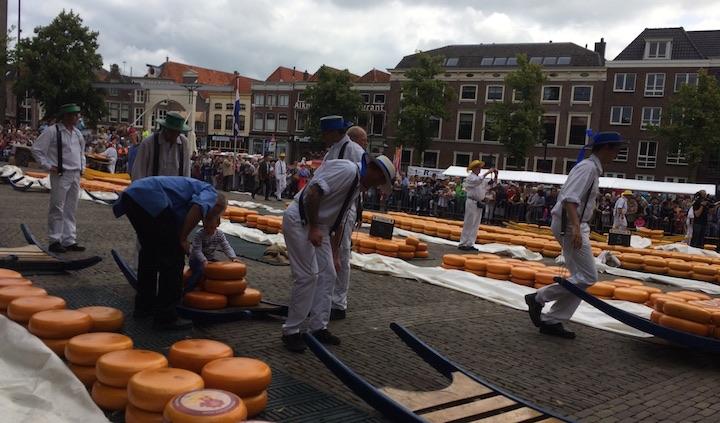 Kaasmarkt Alkmaar Vakantie uitje