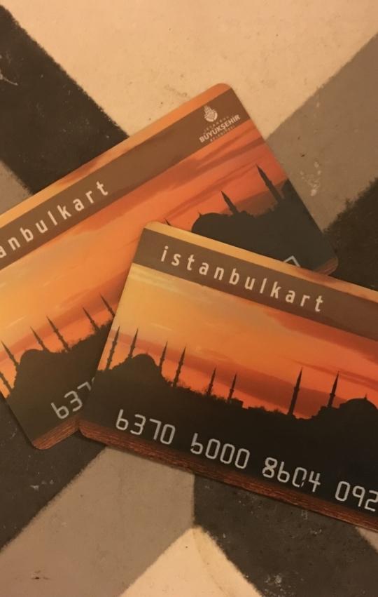 Nieuwe vliegveld Istanbul Kart