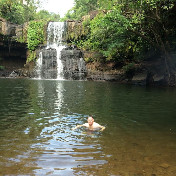 Nam Tok Khlong Chao Waterval