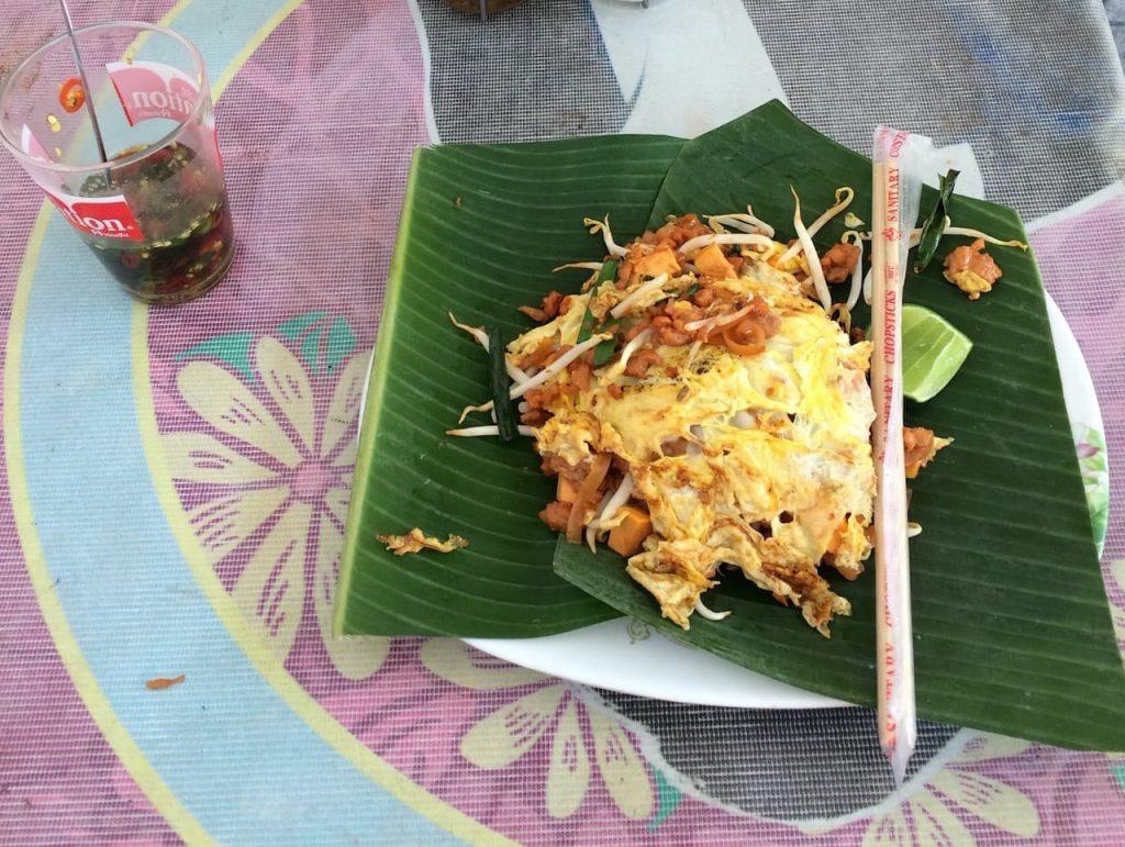 Meeste voorkomende streetfood in Thailand