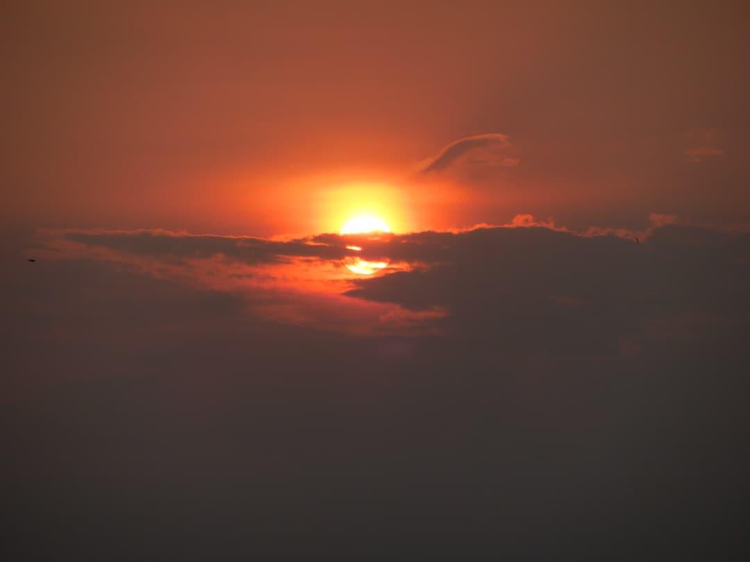 Zonsondergang Angkor