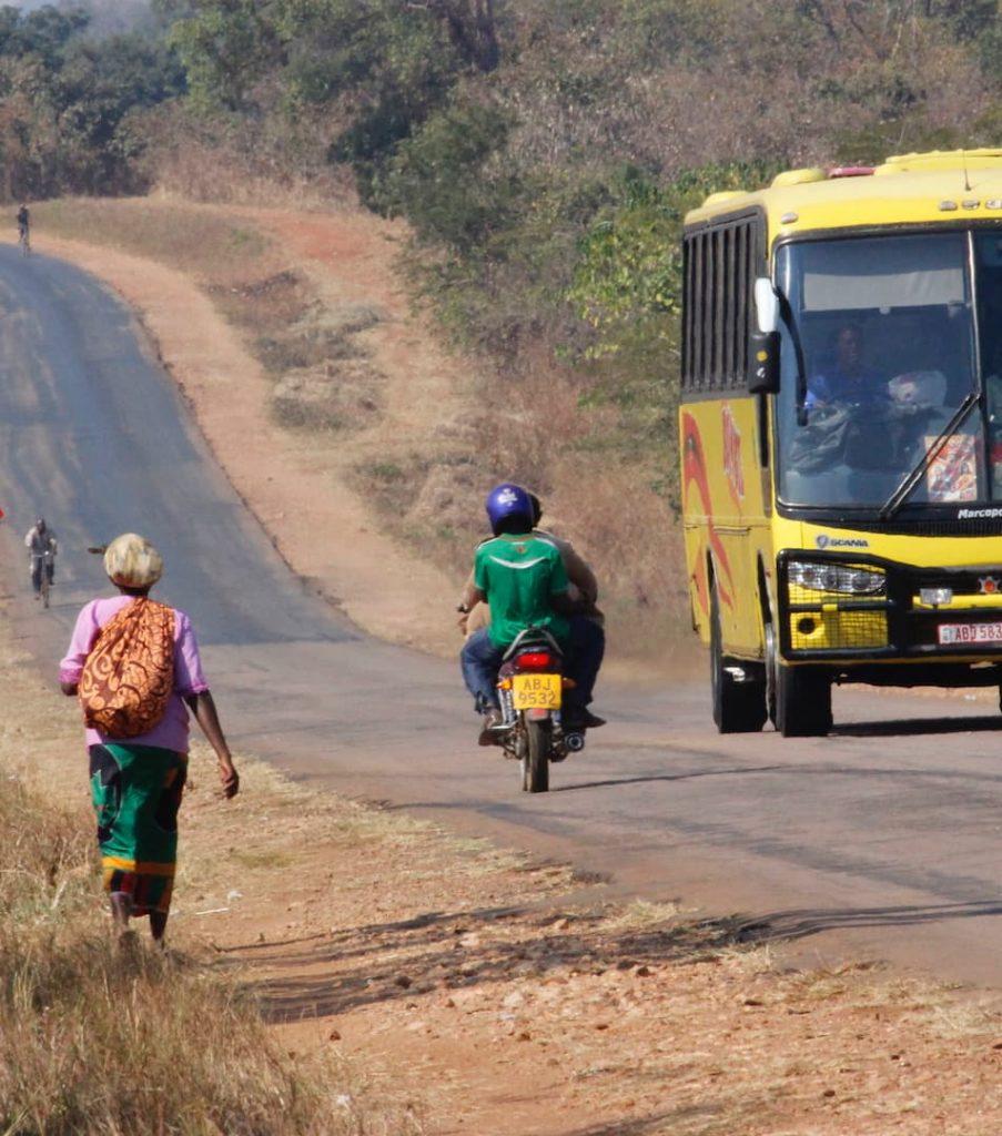 Reizen door Afrika