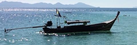 Vervoer longtailboot