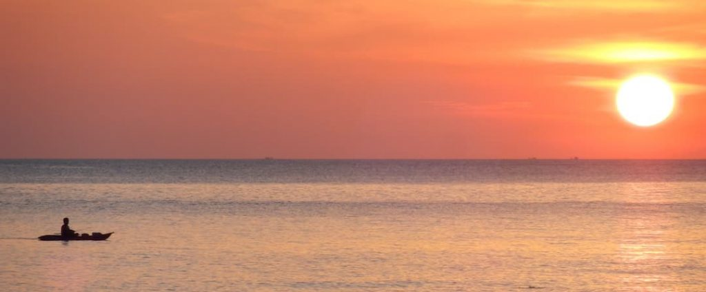 Sunset op Koh Mook 2
